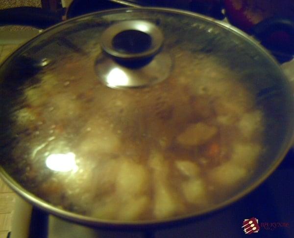Жаркое из говядины - приготовление, шаг 13