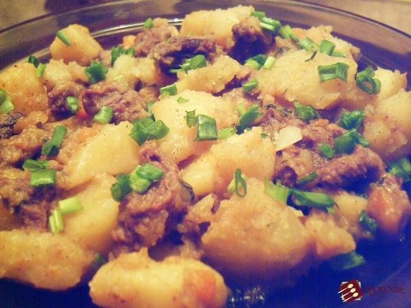 Жаркое из говядины - приготовление, шаг 16