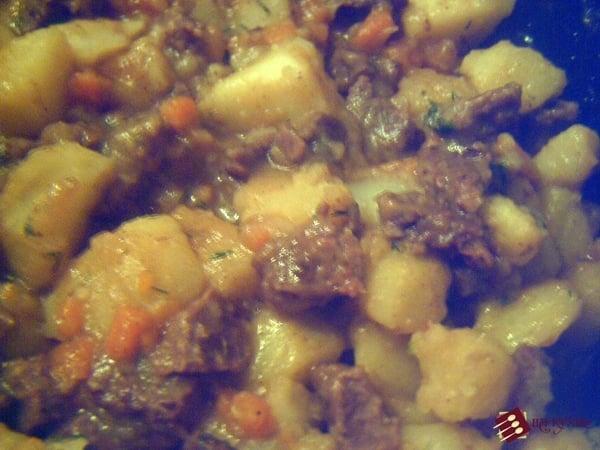 Жаркое из говядины - приготовление, шаг 15