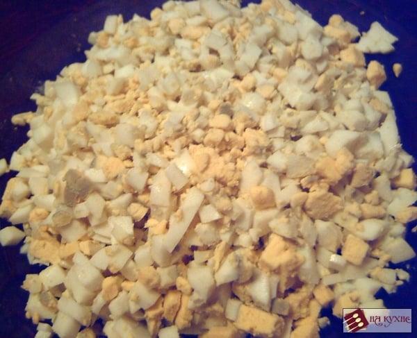 Зразы с начинкой из лука и яиц - приготовление, шаг 2