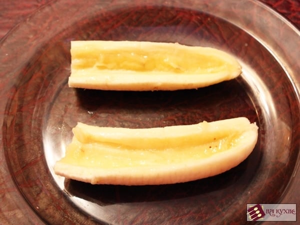 Банановый десерт с орехами в шоколаде - приготовление, шаг 4