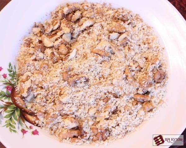 Банановый десерт с орехами в шоколаде - приготовление, шаг 3