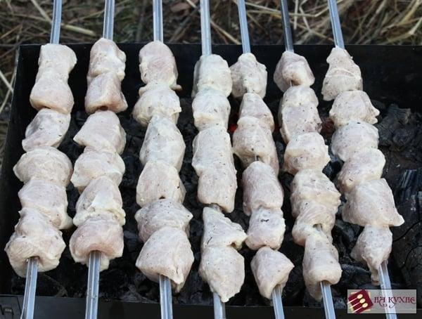 Куриный шашлык