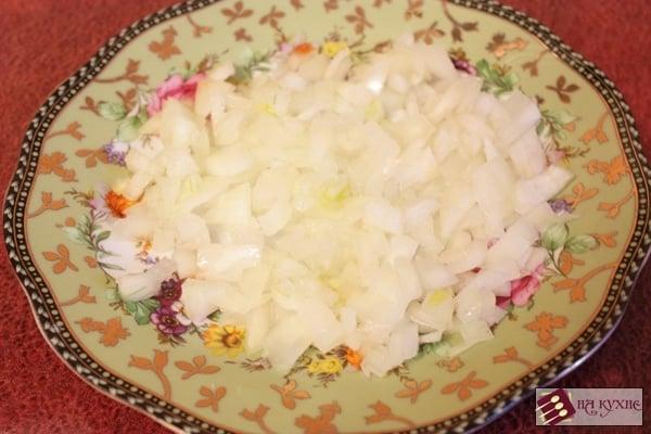 Паста Фарфалле с ветчиной и зеленым горошком - приготовление, шаг 4
