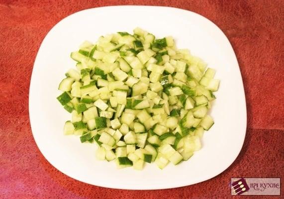 Салат с курицей и красной фасолью - приготовление, шаг 5