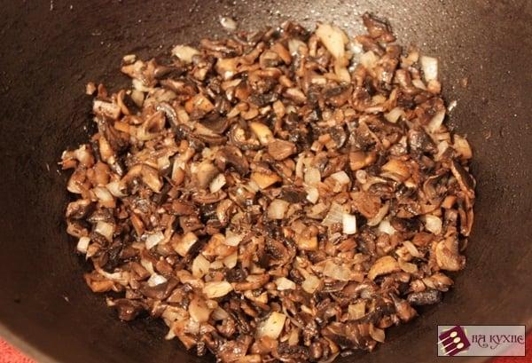 Салат с курицей и грибами - приготовление, шаг 4