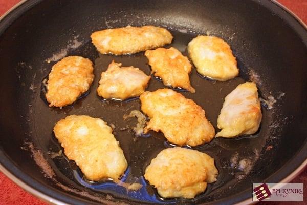 Куриное филе в сырно-кунжутной корочке - приготовление, шаг 9