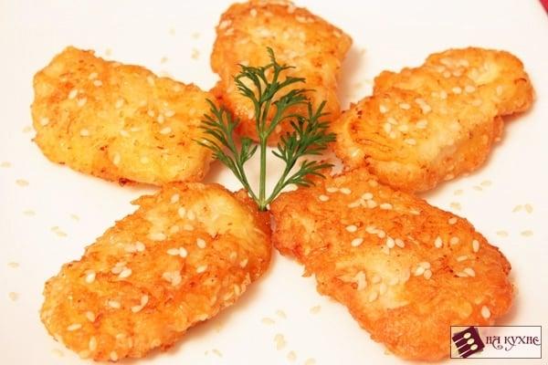 Куриное филе в сырно-кунжутной корочке - приготовление, шаг 10