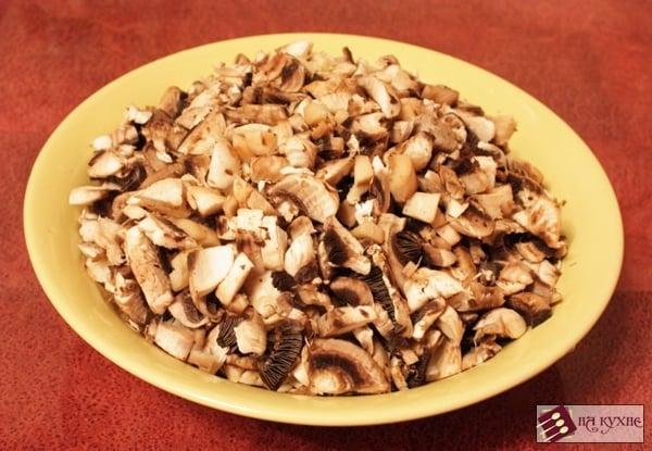 Салат с курицей и грибами - приготовление, шаг 2
