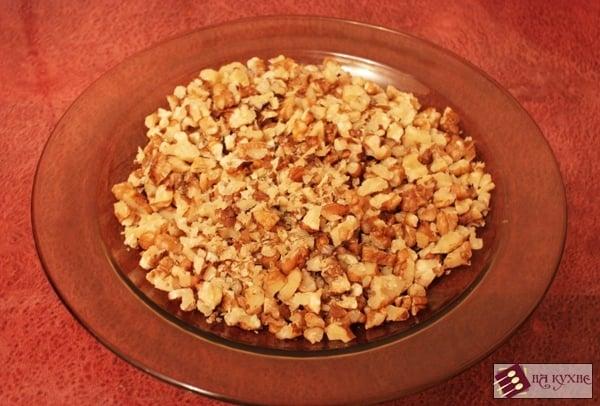 Салат с курицей и грибами - приготовление, шаг 8