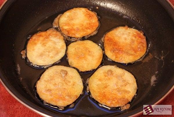 Острая закуска из баклажанов и помидоров с чесноком - приготовление, шаг 4