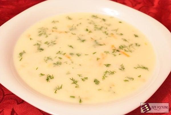 Сырный суп - приготовление, шаг 9