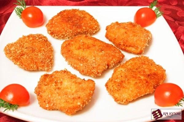 Острые куриные наггетсы - приготовление, шаг 5