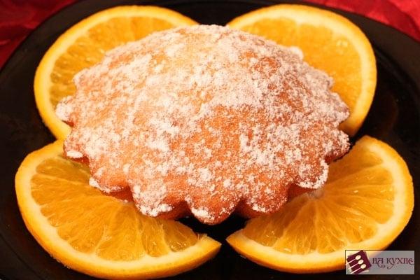 Апельсиновый кекс - приготовление, шаг 9