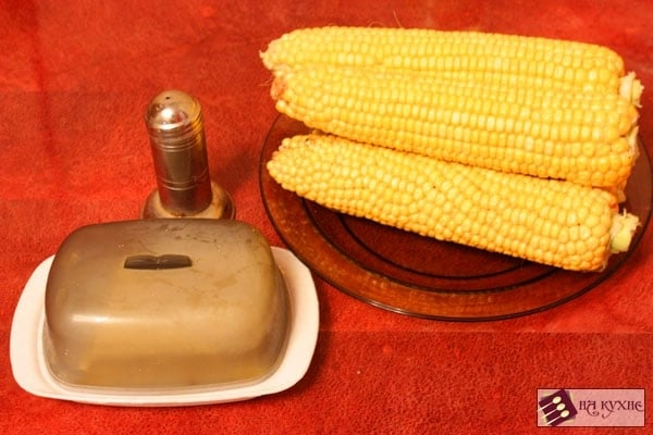 Вареная кукуруза - приготовление, шаг 1