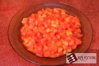 Тушеная курица с рисом и овощами - приготовление, шаг 4
