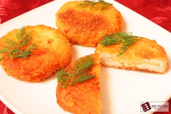 Куриные котлеты с сыром - приготовление, шаг 6