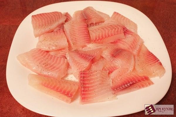 Рыба в кляре - приготовление, шаг 3