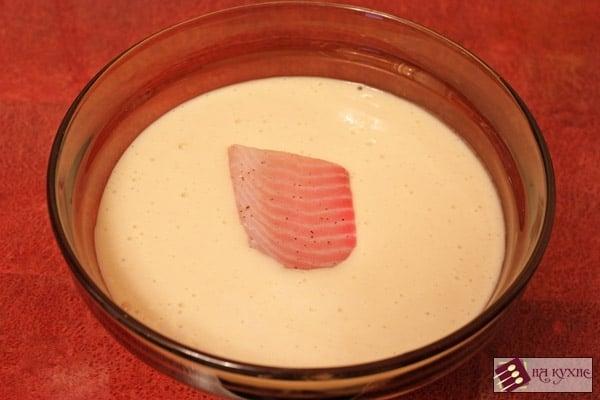 Рыба в кляре - приготовление, шаг 4