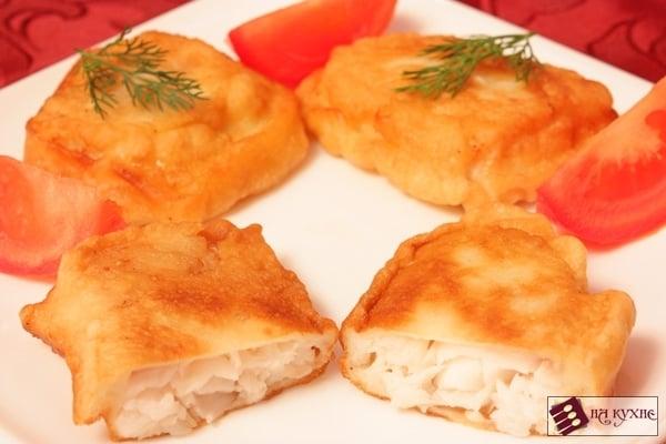 Рыба в кляре - приготовление, шаг 6