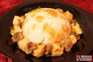 Куриное филе с грибами и помидорами - приготовление, шаг 9
