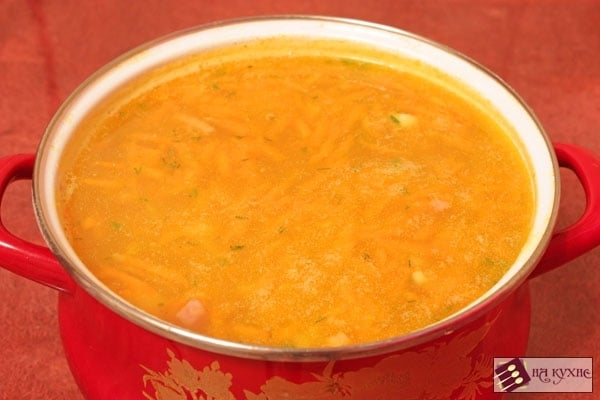 Гороховый суп с копченостями - приготовление, шаг 9