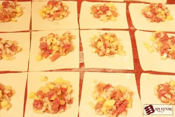 Манты с картофелем и мясом - приготовление, шаг 8