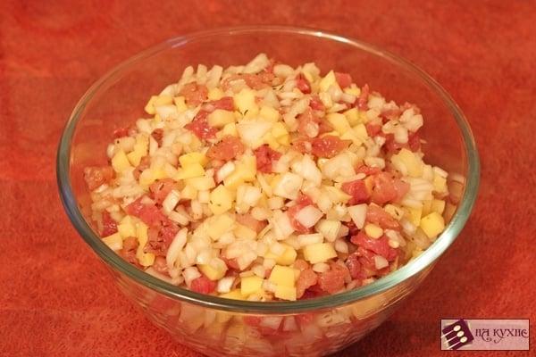 Манты с картофелем и мясом - приготовление, шаг 5