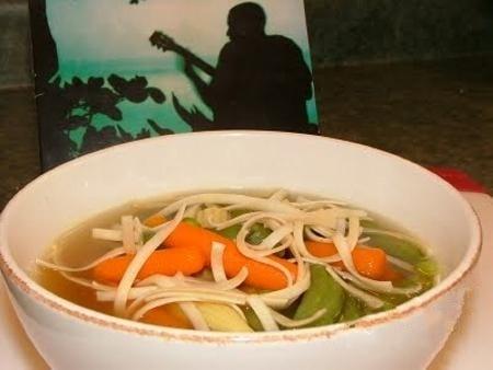 Азиатский овощной суп - приготовление, шаг 5