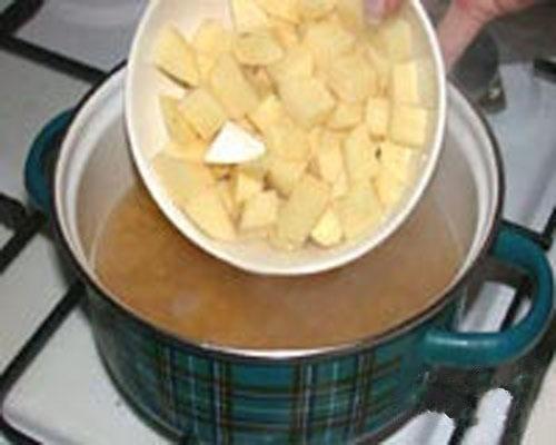 Гороховый суп с орехами - приготовление, шаг 1