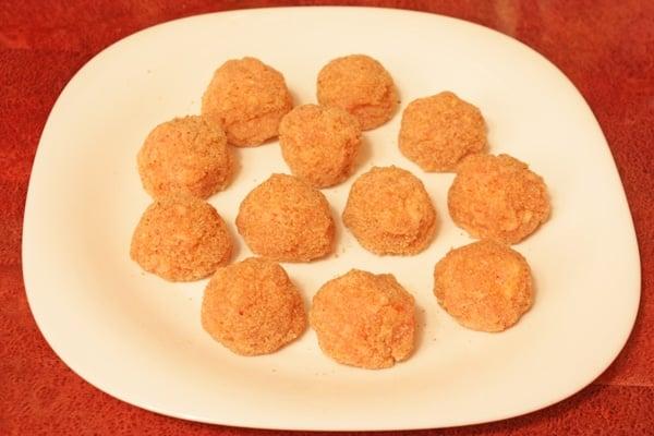 Мясные шарики из индейки с сыром - приготовление, шаг 4