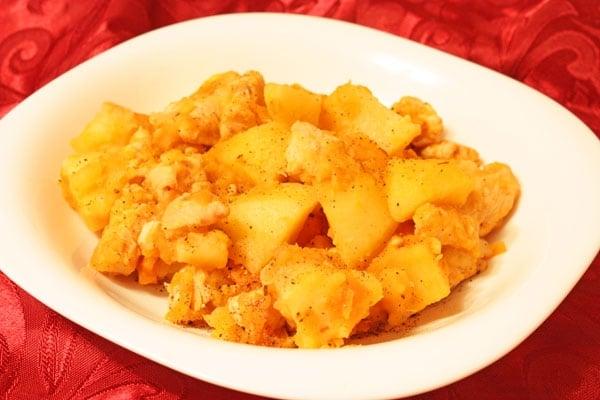 Жаркое из картофеля с курицей - приготовление, шаг 8