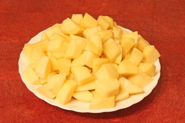 Жаркое из картофеля с курицей - приготовление, шаг 5