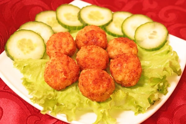 Мясные шарики из индейки с сыром - приготовление, шаг 6