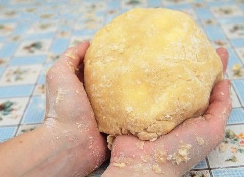Ягодный песочный пирог - приготовление, шаг 2