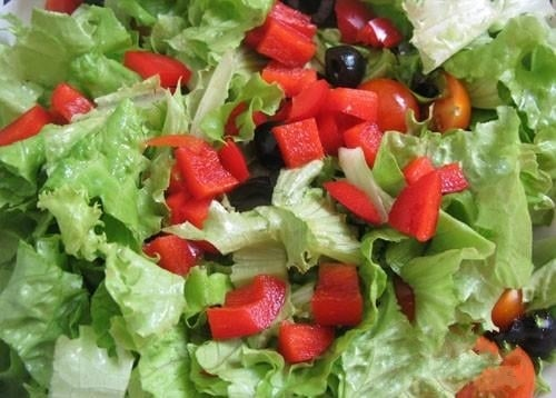 Греческий салат - приготовление, шаг 4