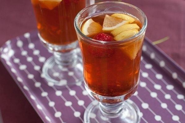 Имбирный чай с клубникой - приготовление, шаг 5