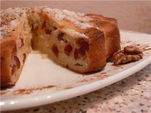 Творожный кекс с вишней - приготовление, шаг 1