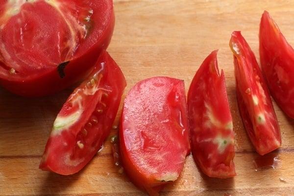 Бифштекс с овощами - приготовление, шаг 2
