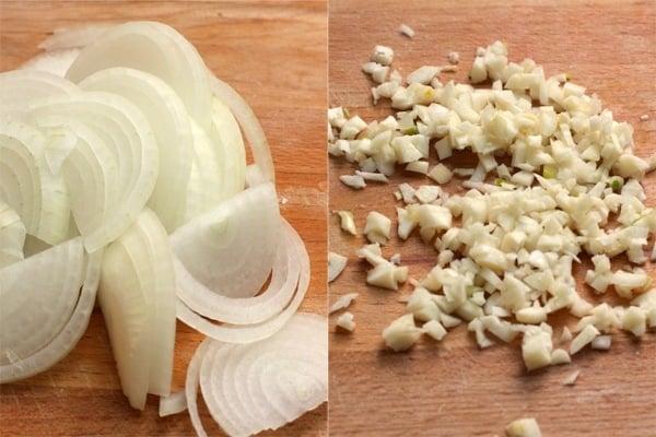 Бифштекс с овощами - приготовление, шаг 1