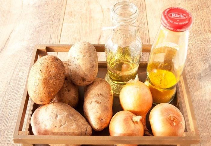 Картофельные драники - приготовление, шаг 1