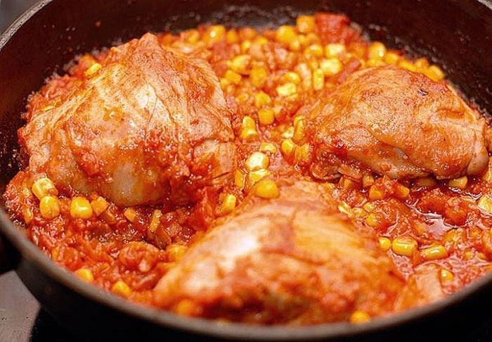 Цыплёнок по-мексикански - приготовление, шаг 3