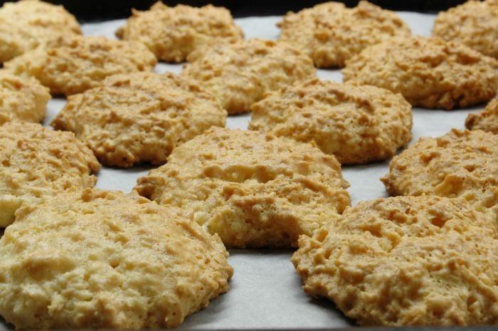 Белково-кокосовое печенье - приготовление, шаг 3