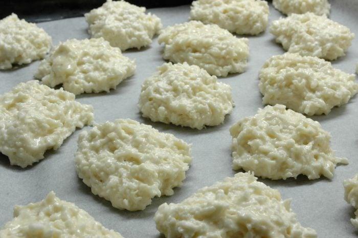 Белково-кокосовое печенье - приготовление, шаг 2