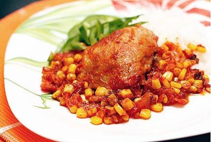 Цыплёнок по-мексикански - приготовление, шаг 4