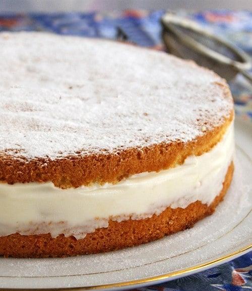 Торт «Творожно-персиковая нежность» - приготовление, шаг 4