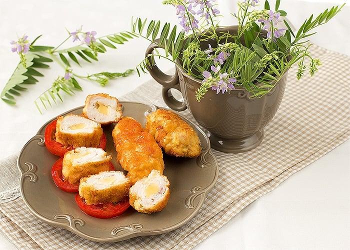 Рулеты из индейки с сыром - приготовление, шаг 4
