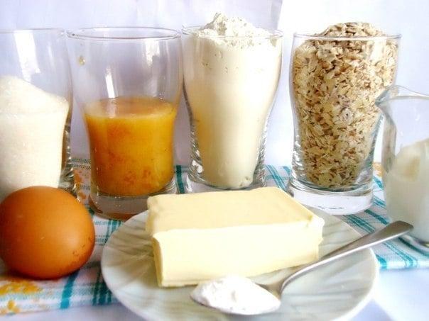 Медовое овсяное печенье - приготовление, шаг 1