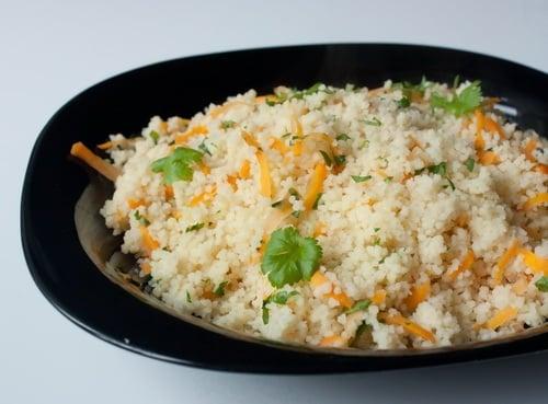 Кус-кус с овощами - приготовление, шаг 4