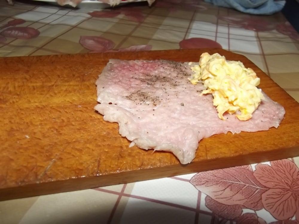 Рулетики свинные  под соусом - приготовление, шаг 3